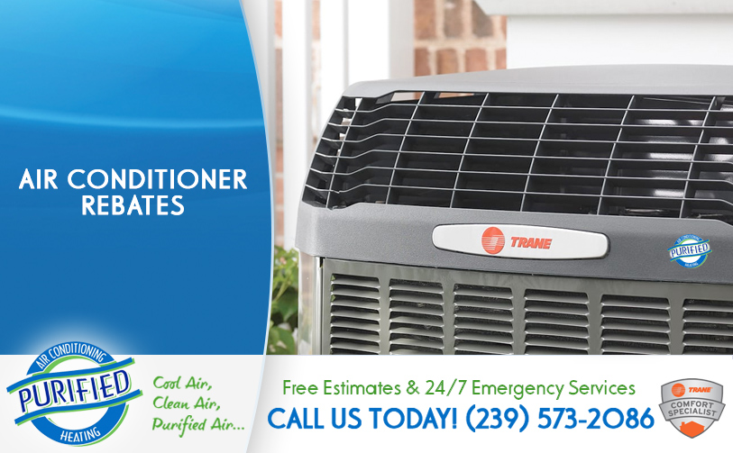 Air Conditioner Rebates in and near Bradenton Florida