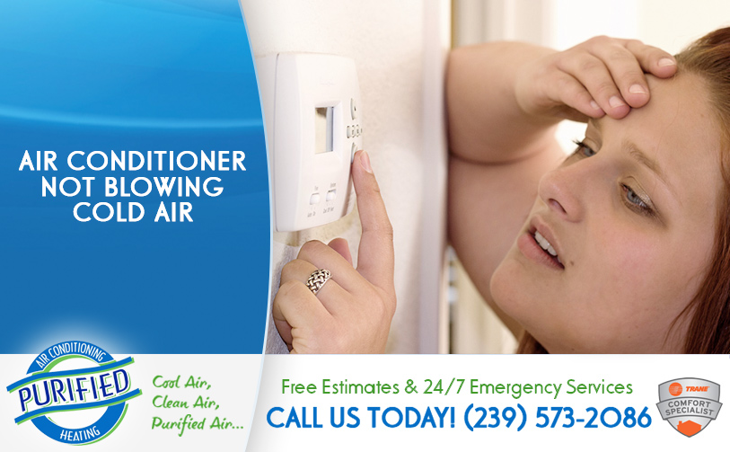Air Conditioner Not Blowing Cold Air in and near Cape Coral Florida