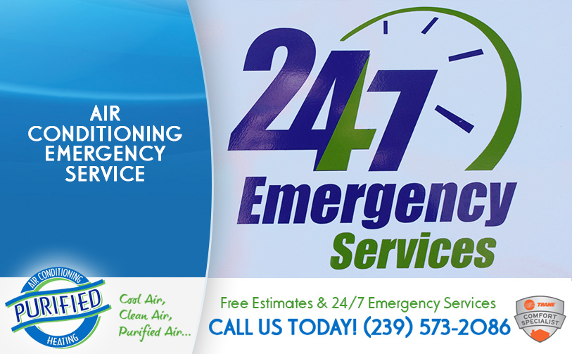 Air Conditioning Emergency Service in and near Cape Coral Florida