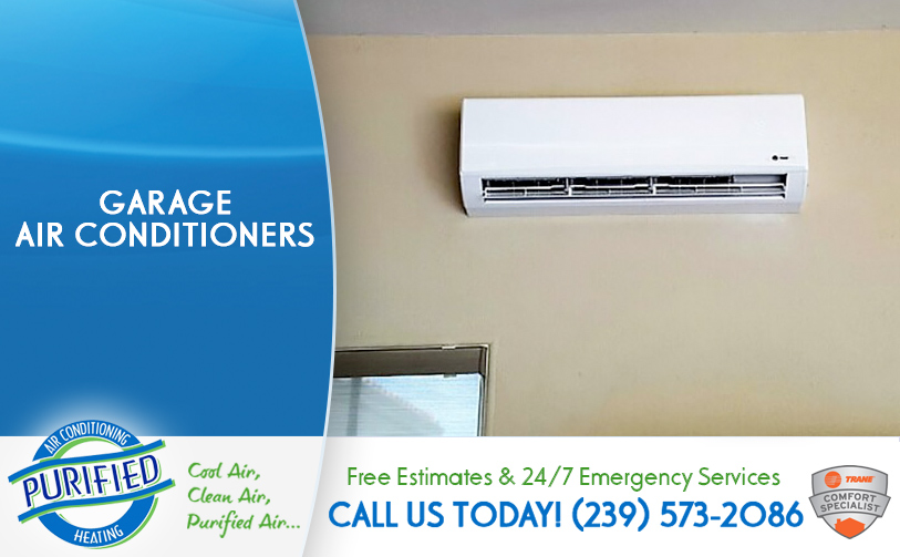 Garage Air Conditioners in and near Cape Coral Florida