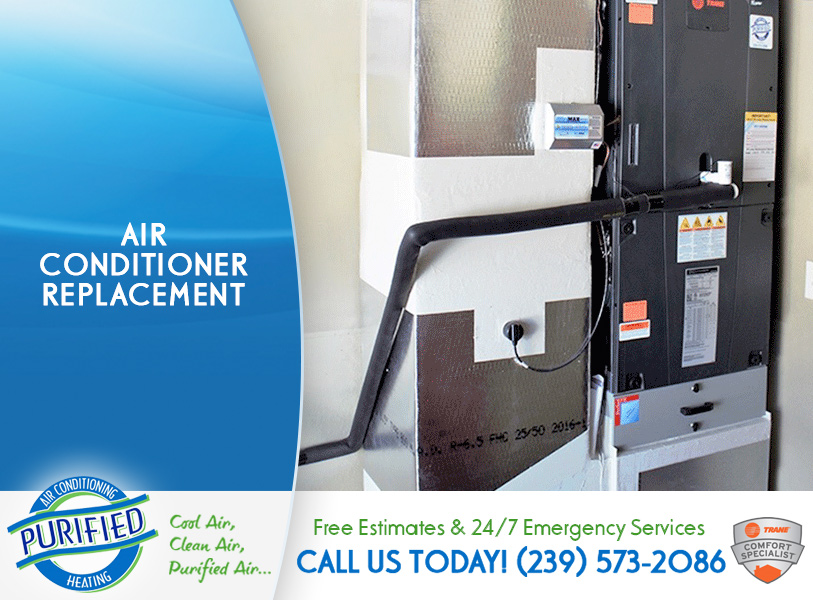 Air Conditioner Replacement in and near Estero Florida