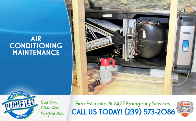 Air Conditioning Maintenance in and near Fort Myers Beach Florida