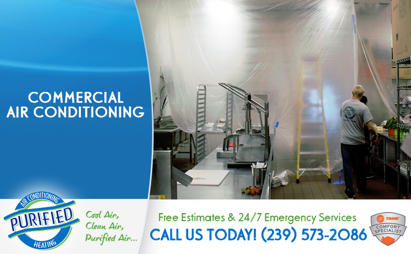 Commercial Air Conditioning in and near Fort Myers Beach Florida