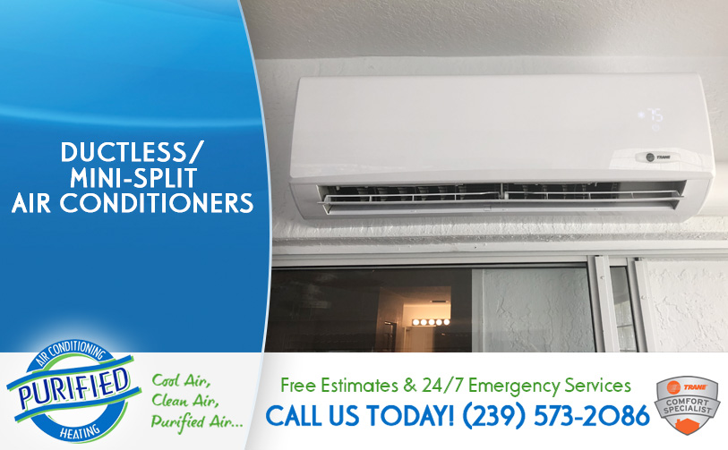 Ductless / Mini-Split Air Conditioners in and near Fort Myers Beach Florida