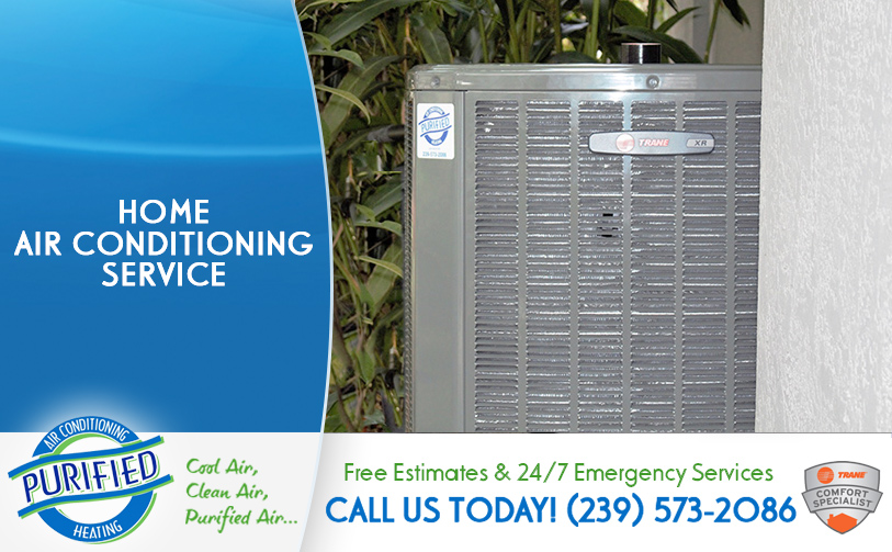 Home Air Conditioning Service in and near Fort Myers Beach Florida
