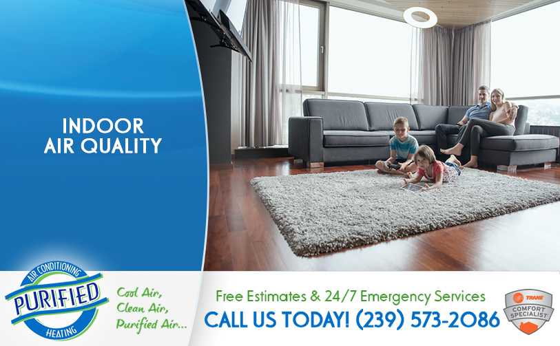 Indoor Air Quality in and near Fort Myers Beach Florida