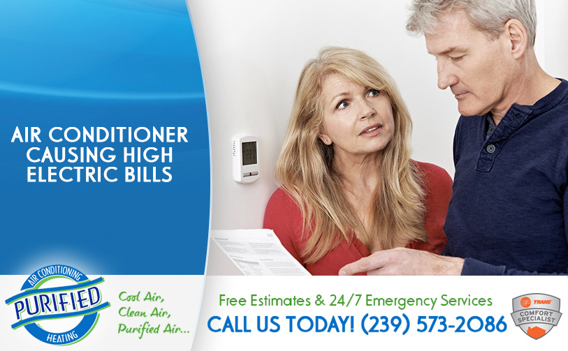 Air Conditioner Causing High Electric Bills in and near Golden Gate Florida