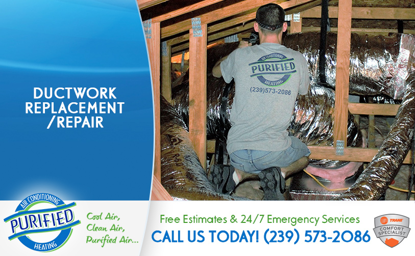 Ductwork Replacement/ Repair in and near Golden Gate Florida