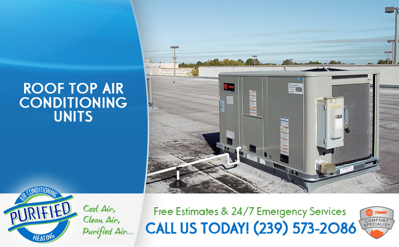 Roof Top Air Conditioning Units in and near Lehigh Acres Florida