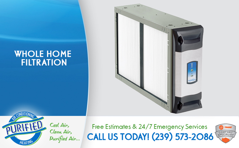 Whole Home Filtration in and near Naples Florida
