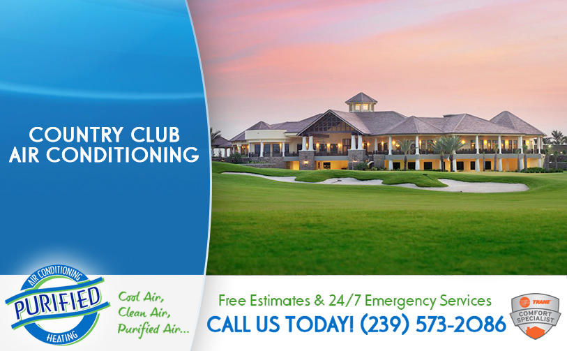 Country Club Air Conditioning in and near North Fort Myers Florida
