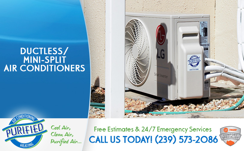 Ductless / Mini-Split Air Conditioners in and near North Fort Myers Florida