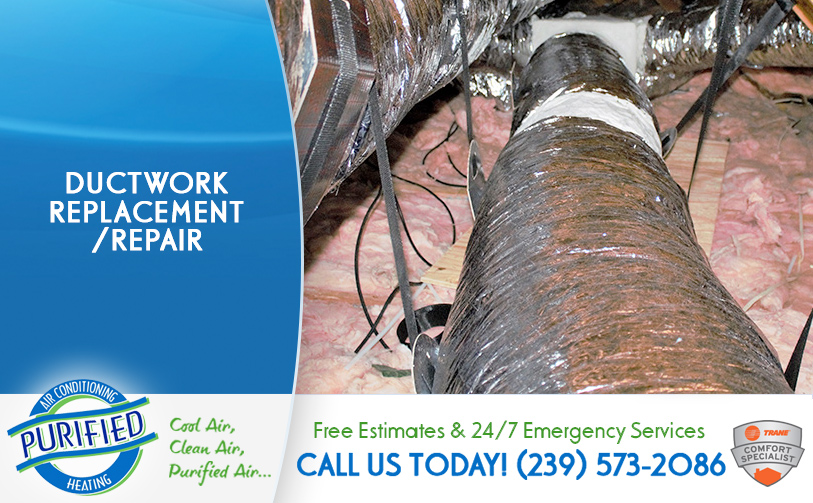 Ductwork Replacement/ Repair in and near North Fort Myers Florida