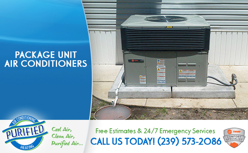 Package Unit Air Conditioners in and near North Fort Myers Florida