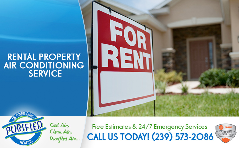 Rental Property Air Conditioning Service in and near North Fort Myers Florida