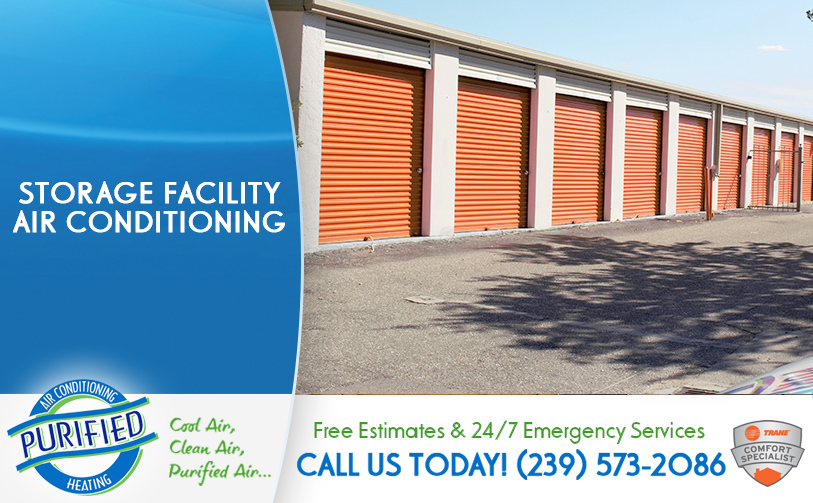 Storage Facility Air Conditioning in and near North Fort Myers Florida