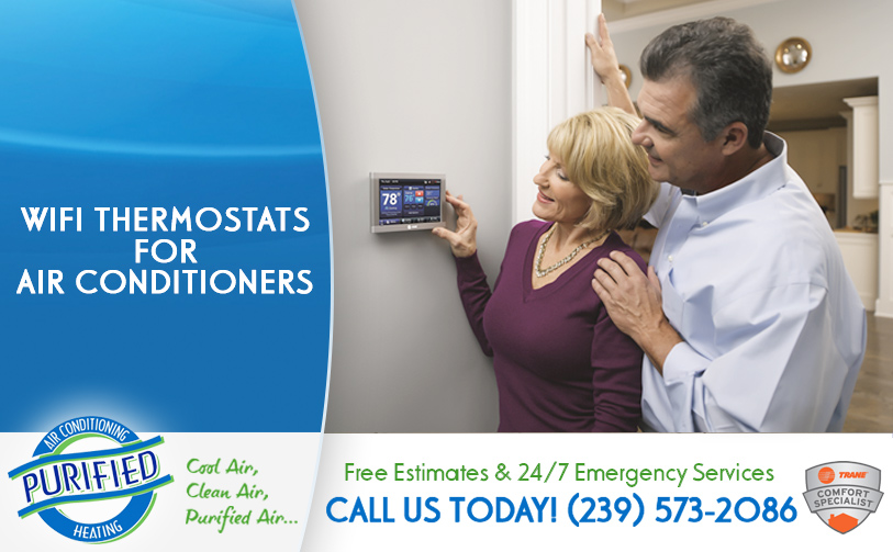 WIFI Thermostats for Air Conditioners in and near North Fort Myers Florida