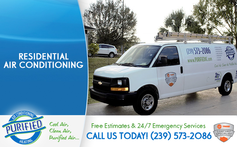 Residential Air Conditioning in and near Sanibel Florida